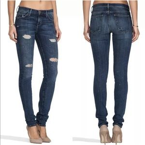 Current/Elliott Skinny Loved & Destroyed Jean 24